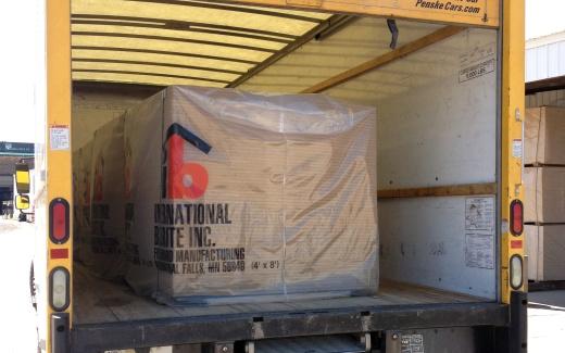 Materials loaded