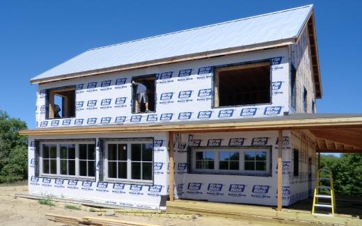 Second floor window preparation