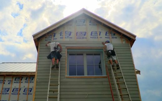 Siding the library